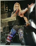Lita Ford Signed The Runaways Autograph Coa T