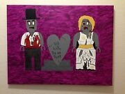 Lego Monster Fighters Zombies Ooak Original Art By New Orleans Artist Greatrex