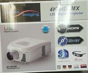 Lumax Imaging 4k-hdlmx Full Hd 1080p Led Projector With Hd Full 1080p Compatible