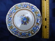 Crown Ducal Floretine Made In England 1954 Dinner Service For 10
