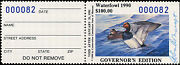 Missouri 12gh 1990 Hand Signed Governor Stamp Only 100 Made 82 John Ashcraft