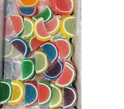 Assorted Fruit Slices Nostalgic Jelly Slice Candy 2 Pounds Free Shipping