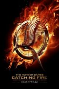 Hunger Games Catching Fire Original Movie Poster Double Sided 27x40