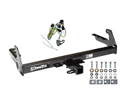 Trailer Tow Hitch For 95-03 Dodge Dakota All Styles Receiver W/ Wiring Harness