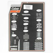 Colony 8316 Chr Complete Stock Hardware Kit - 1957 - 1969 Sportster Xlch - Chro
