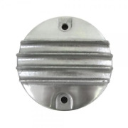 Webco Ribbed Aluminum Points Cover Triumph 650 750 Motorcycles 70-8737 Bobber