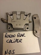 Rokon Rt340 Rear Brake Caliper And Spacer Mid 1970and039s New Old Stock Item