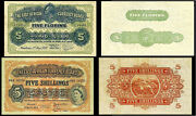 Copy 2 East Africa 5 Florins 1920 1954 Banknotes Not Real