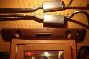 Nos 1965/1966 Mustang Gt Rear Valance With Factory Back Up Light Cut Outsrare