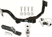 Complete Trailer Hitch Package W/ Wiring Kit For 2003-2006 Kia Sorento Class Iii