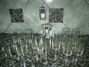 Cuthbertson Christmas Glassware Discontinued Original Pattern