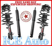 Fits 2009-2010 Lincoln Mkx Fcs Loaded Fcs Front Struts W/coil And Kyb Rear Shocks