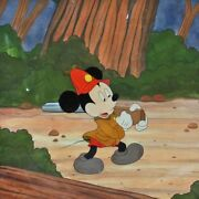 Disney Production Cel From The Pointer Featuring Mickey Mouse