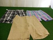 New Mens Lot Of 3 Polo Golf Shorts Size 32 Polo