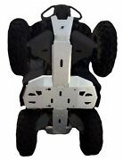 Ricochet Off-road 4 Pc Full Frame Alum Skid Plate Set 2012-19 Can-am Renegade