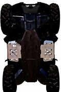 Ricochet Off-road 2 Pc Floor Board Skid Plate Set 2007-21 Yamaha Grizzly 550/700
