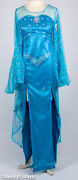Elsa Frozen Princess Gown Adult Womanand039s Fancy Party Dress Up Costume Gown