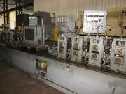 Yoder M-3 Stainless Steel Tube Mill 9 Stand 3 Shafts Bead Flasher/scarfer