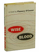 Wise Blood By Flannery Oand039connor First Edition 1952 1st Book Unclipped Jacket