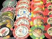 1 Genuine Casino Poker Chip From Collection Almost 200 Usa Casino's 1 - 100