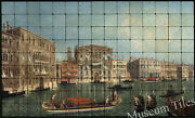 60x36 Venice The Grand Canal Mural Tumbled Marble Tiles