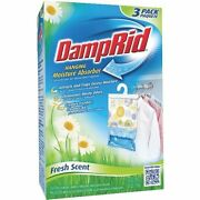 18 Pack - Damp Rid Hanging Moisture Absorber - Fresh Scent - Free Shipping