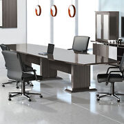 8and039 - 16and039 Modern Conference Room Table Boardroom Meeting Office 10 12 14 Ft Foot