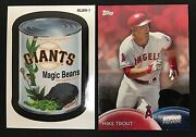 2016 Topps Spring Baseball Complete Set 1-50 + Wacky Packages Mlb Stickers 1-6