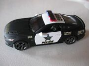 138 Scale Kinsmart 2015 Ford Mustang Gt Police Diecast Pullback W/o Box