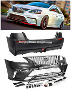 For 13-15 Nissan Sentra Jdm Nism Style Front Rear Conversion Bumper Cover Kit