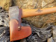 Hand-made Brown Leather Sheaths Gransfors Bruks Small Forest Axe Tan
