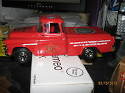 Ertl 1955 Chevy Cameo Delaware Fire Marshal Pickup-case Lots-free Shipping