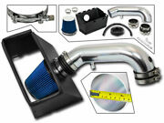 Cold Heat Shield Air Intake + Blue Filter For 09-18 Ram 1500 5.7l V8