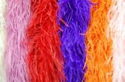 20 Ostrich Feather Boas 4 Ply Many Colors 72 Costumes/hats/craft/bridal/party