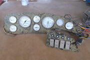 Gauge Panel Assembly 22 X 6.25 With 8 X 4.25 And 4 Gang - Switch Panel