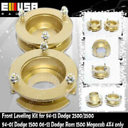 Front2 Leveling Lift Kit Fits 06-13 Dodge Ram 1500 And Megacab 2500 3500 4x4gold