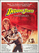 Poster Indiana Jones And The Temple Of Doom 1984 French Grande 47.25x63 Nm 9.0