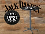 Jack Daniels Old No. 7 Repeat Cafandeacute Table - Game Room - Bar - Tennessee Whiskey