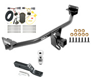 Trailer Tow Hitch For 16-18 Hyundai Tuscon Complete Package W/ Wiring And 2 Ball