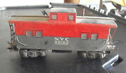 Vintage O Scale Marx New York Central Nyc Tin Caboose Car 20102