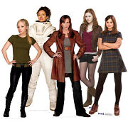 Doctor Who Assistants Collection Cardboard Cutouts Pack Of 5 Tv Props Photo Fun