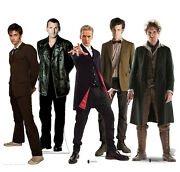 Doctor Who Collection Cardboard Cutouts Pack Of 5 Tv Props Photo Fun Party Theme