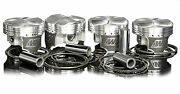 Wiseco Forged Pistons For Ford Escort Rs Turbo 1.6l 8v Cvh / Lna 7.51