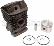 Cylinder And Piston Kit For Stihl 029 039 Ms290 Ms390 46mm - Rep 1127 020 1210
