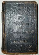 Antique 1877 Evangelical Lutheran Bible In German Sherman And Co Phil