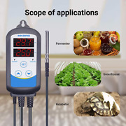 Inkbird Temperature Controller 110v Digital Home Thermostat Programmable Timer