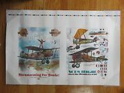 Aetna Insurance Flying High In '79 Bond Campaign Aces High Airplanes Poster