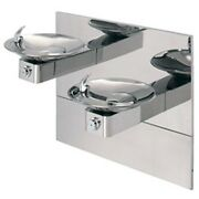 Haws 1011hpsms 304 Stainless Steel Pol. Barrier-free Dual Wall Mount Fountain