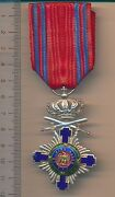 Romania Order Star Romanian Medal Knight Independence War 1877 Military In Peace