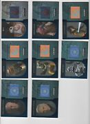 2016 Star Wars Evolution Flag Patch Blue Lot Of 16 Different Xx/50
